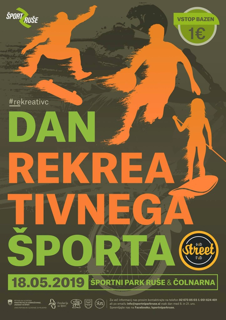 Dan športa - novi plakat